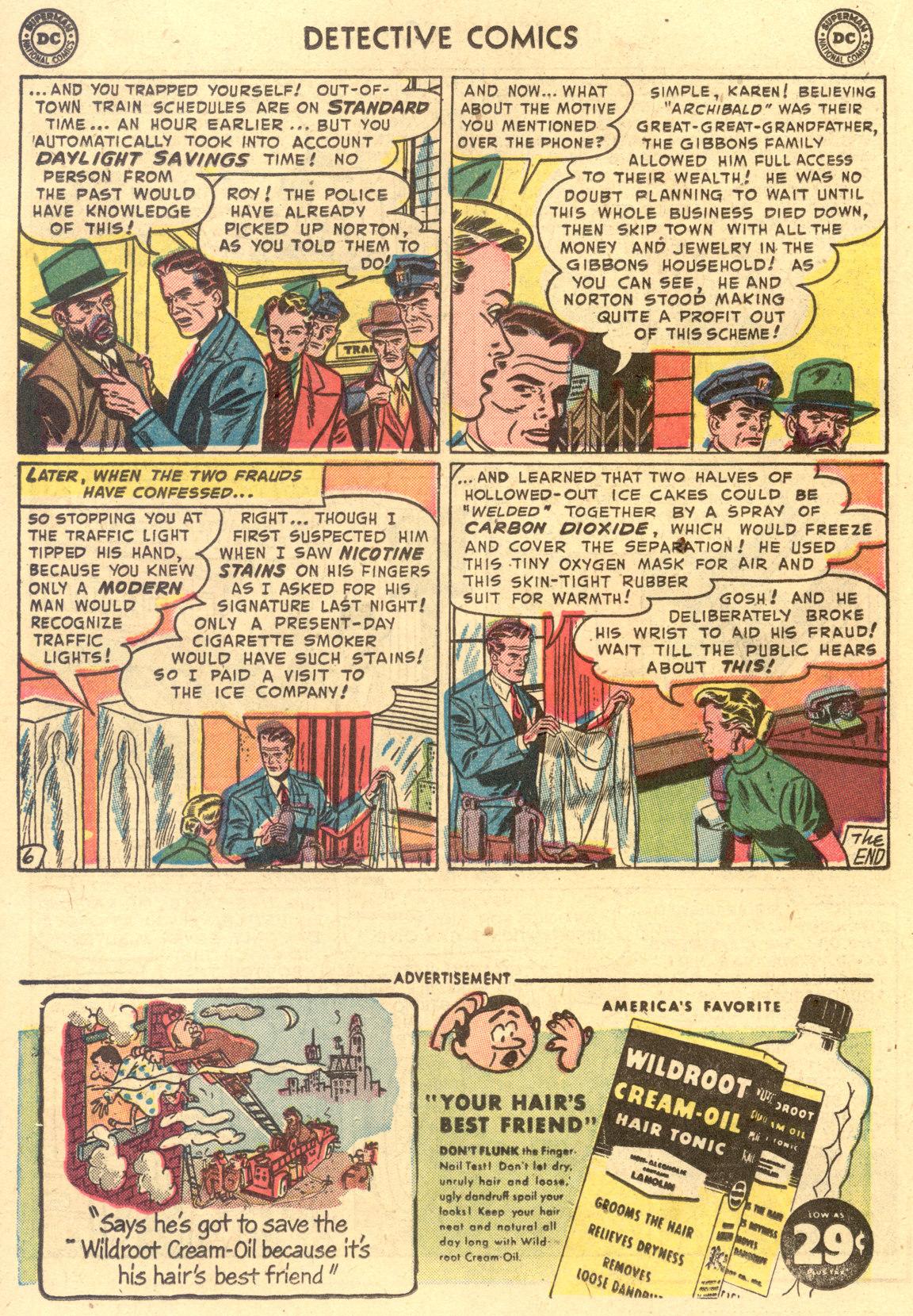 Read online Detective Comics (1937) comic -  Issue #194 - 22