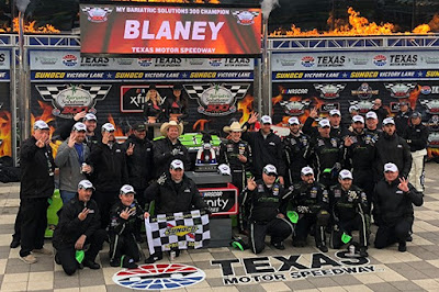 Ryan Blaney Wins At Texas! #NASCAR #NXS