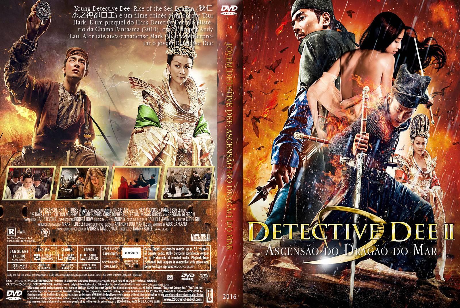Jovem Detetive Dee: Ascensão do Dragão do Mar (2016) DVD-R Custom