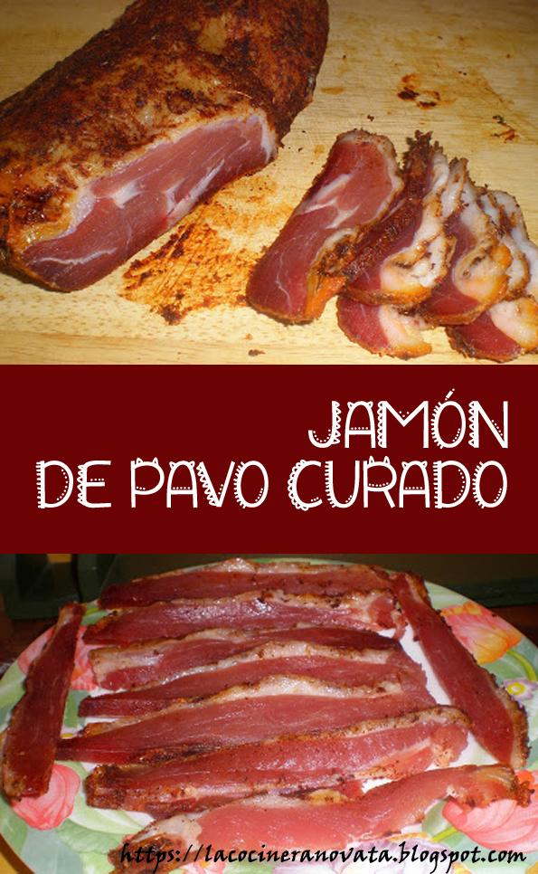 jamon de pavo curado aves receta cocina gastronomia light baja en calorias sana carne curada especias