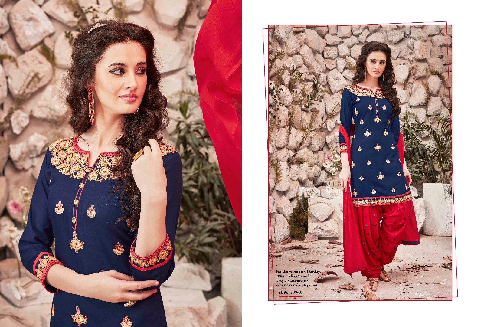 The Fashion Of Patiala Vol 14 – Cotton Cambric Readymade Dress Buy Online
