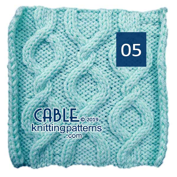 Cable Knitting Pattern 05