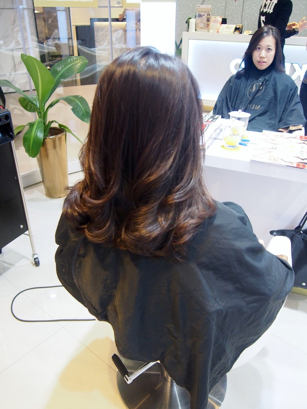 Quans Food Travel Lifestyle [ADV] Goodbye straight hair Hello