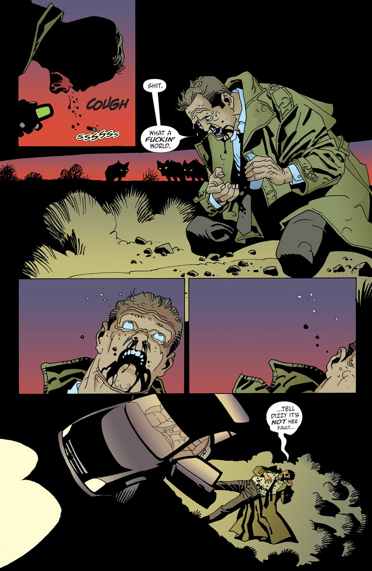 Read online 100 Bullets comic -  Issue #58 - 21