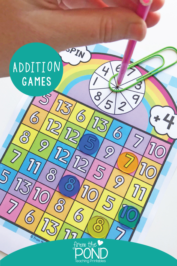 Addition Games