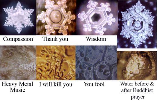 Dr. Emoto's Amazing Water Crystal Photosnikkenergy ~ it's all just energy
