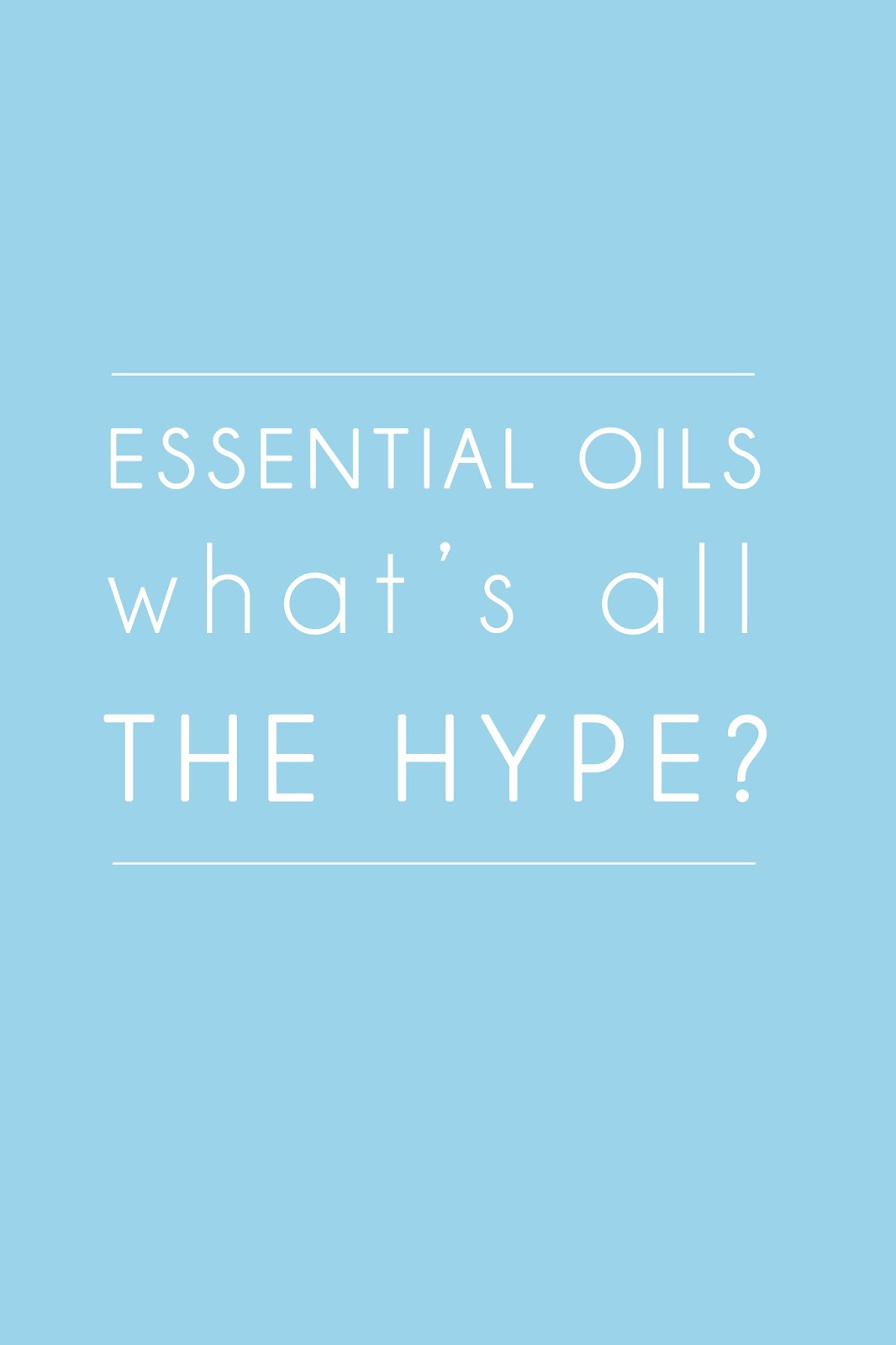 Essential Oils: What's all the Hype? www.beaucience.co.uk