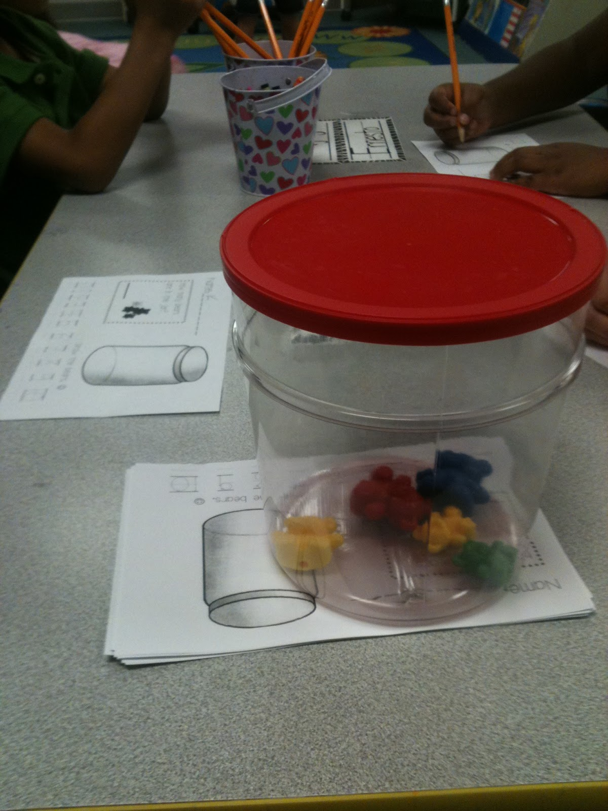 Kreative In Kinder Math And Science Centers Begin