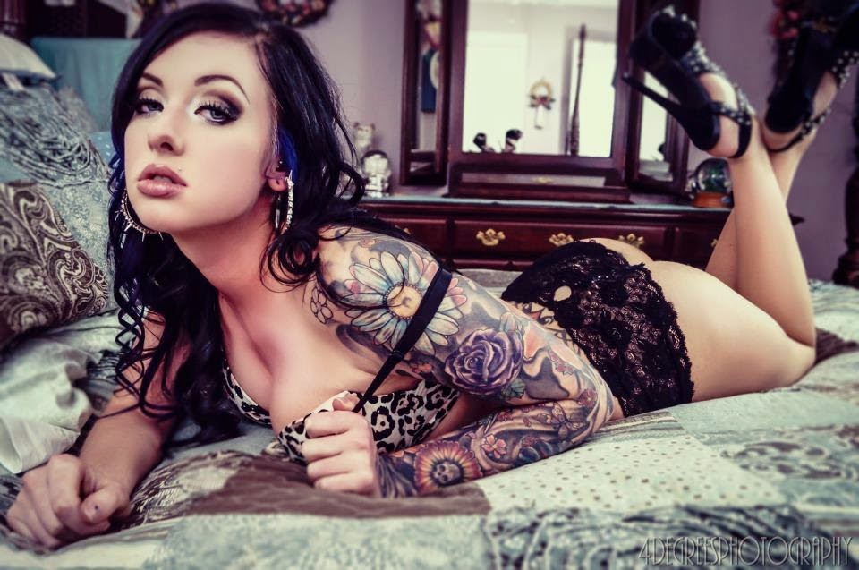 Audrey Kelly | Female Models With Tattoos | Tattooed Girls