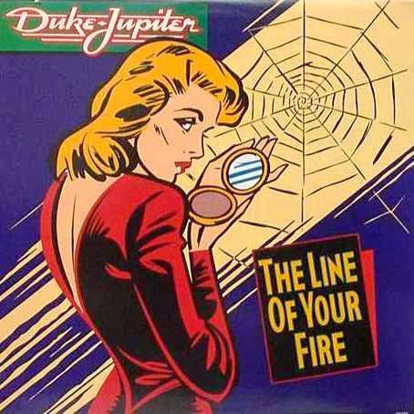 Duke Jupiter The line of your fire 1985 aor melodic rock