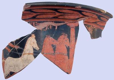Ο Πέλοπας σε αγγείο 2.500 ετών