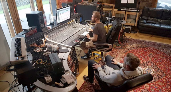 Consumed recording new EP after more than 15 years