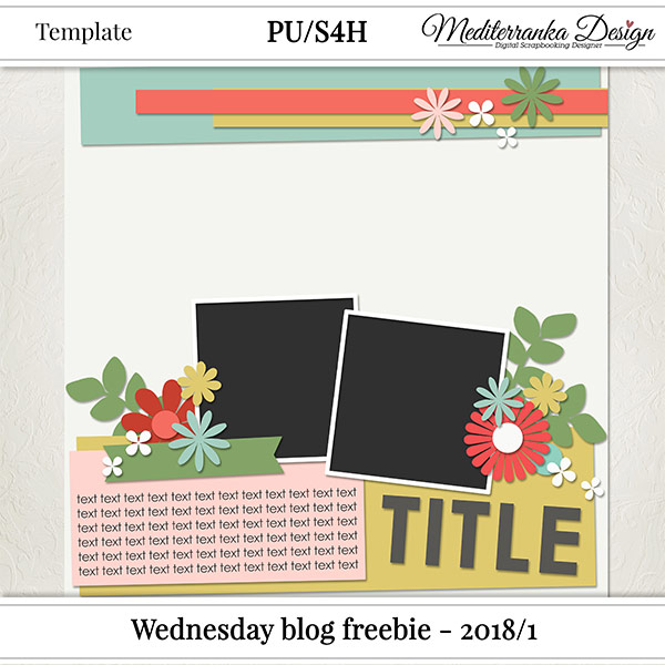 WINNER ANNOUNCEMENT + WEDNESDAY BLOG FREEBIE - 2018/1