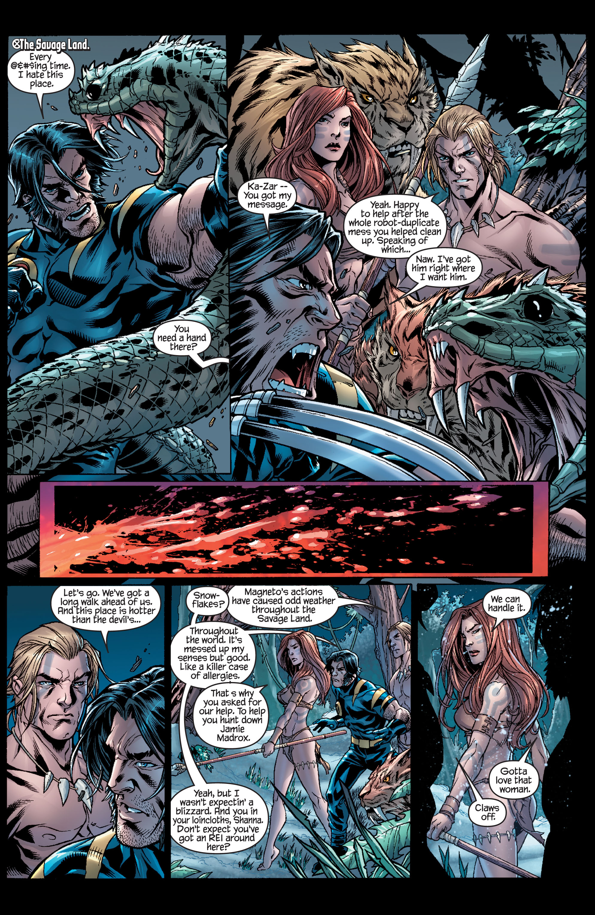 Read online Ultimate X-Men comic -  Issue #100 - 17