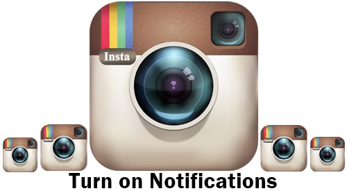 how to turn instagram notifications on