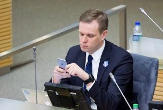 Gabrielius Landsbergis netoleruoja Vokietijos dešiniųjų viešnagės Lietuvoje