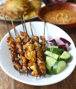 malaysian chicken satay recipe