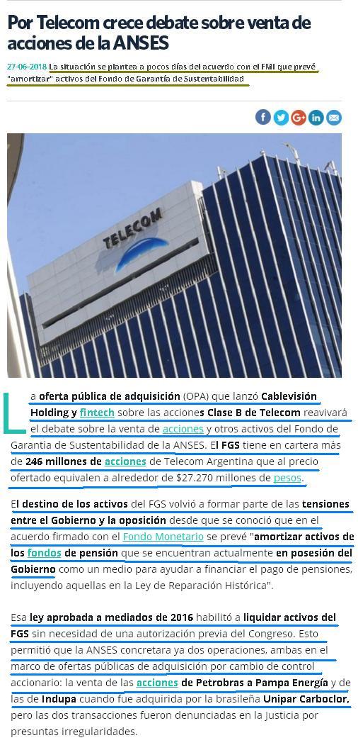 Una ley solo para amigotes!!! Telecom