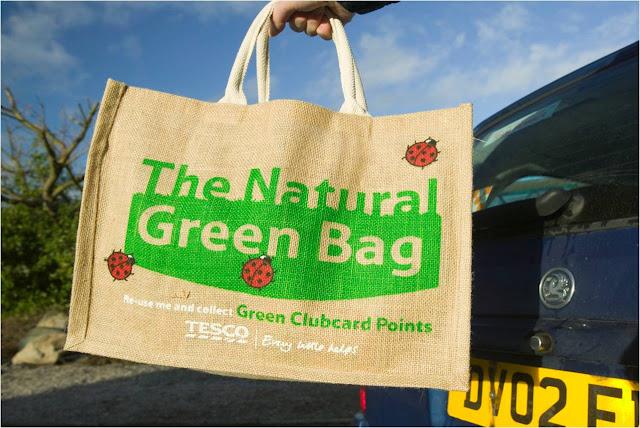 bolsa de tela para el cuidado del medio ambiente