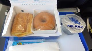 AIR KBZの機内食