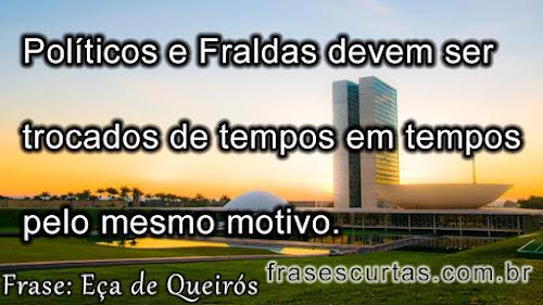 frases sobre a política no brasil
