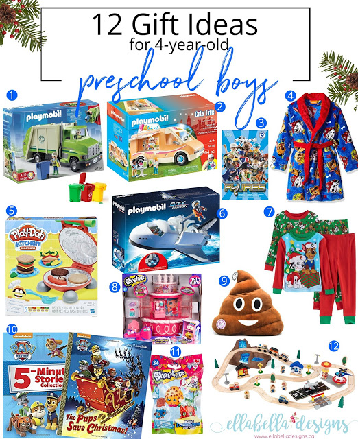 12 Gift Ideas for 4-year-old Toddler Preschool Boys Gift Guide