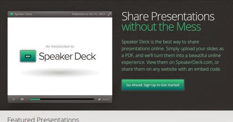 Speaker Deck -Convierte tus PDF en una atractiva presentación