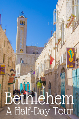 Travel the World: A half-day tour of Bethlehem with Abraham Tours visits the birthplace of Jesus and Banksy graffiti art.