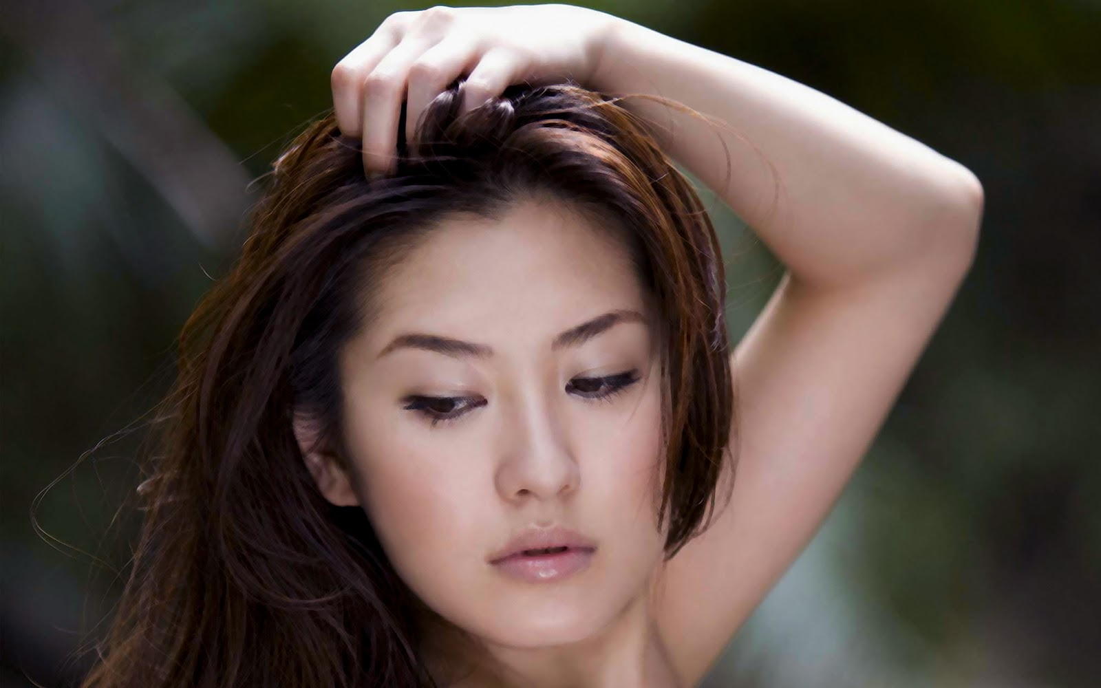 Foto Hot Yabuki Haruna Model Seksi Jepang