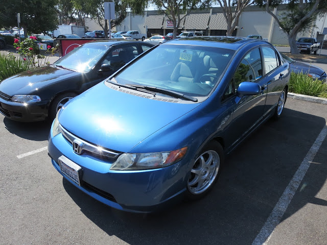 2006 Honda Civic after collision repairs at Almost Everything Auto Body