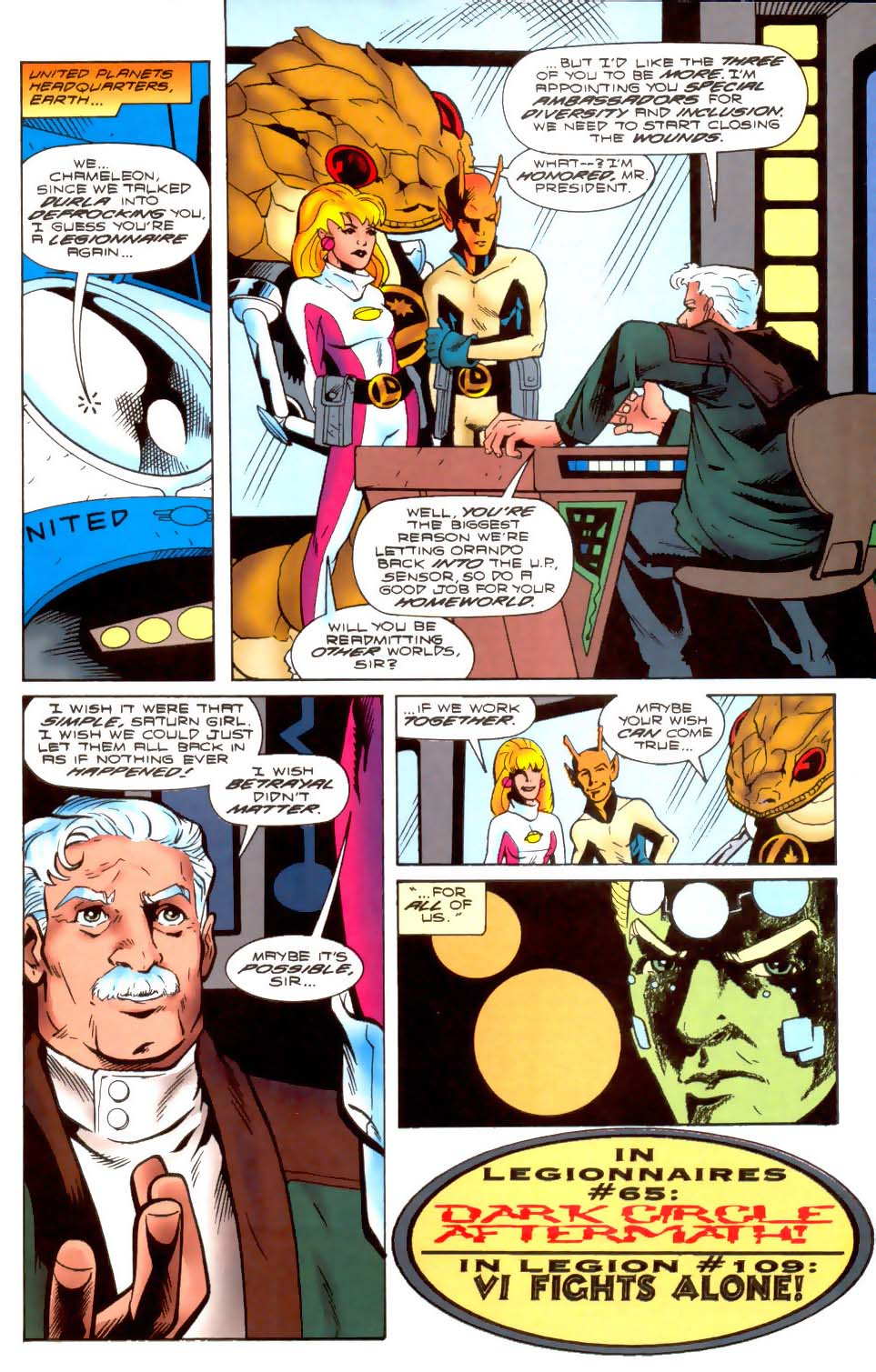Legion of Super-Heroes (1989) 108 Page 20