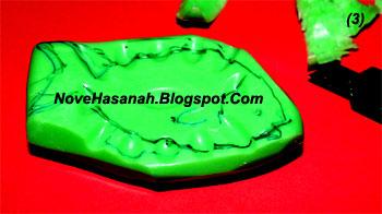 langkah-langkah cara membuat ukiran dari bahan sabun mandi batangan berbentuk ikan 3