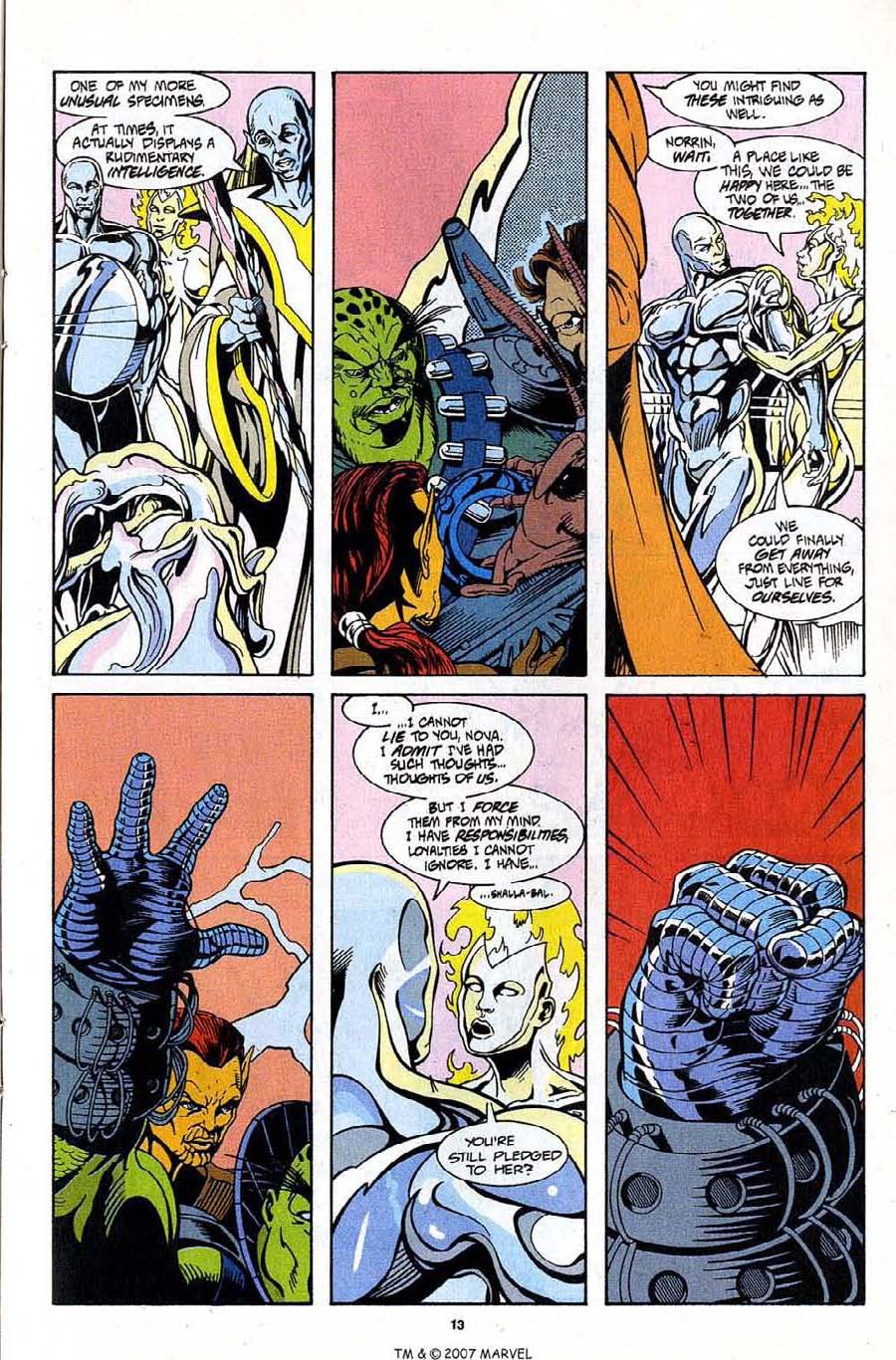 Read online Silver Surfer (1987) comic -  Issue #99 - 15