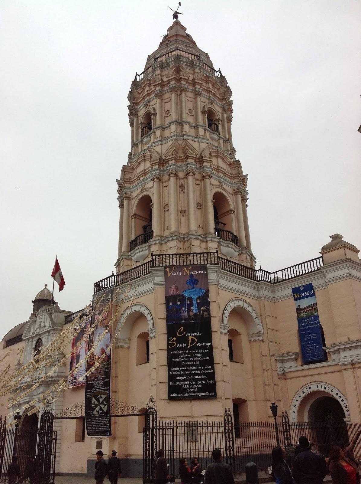 CONVENTO DE SANTO DOMINGO DE LIMA E PARQUE DA MURALHA - Peru, Lima