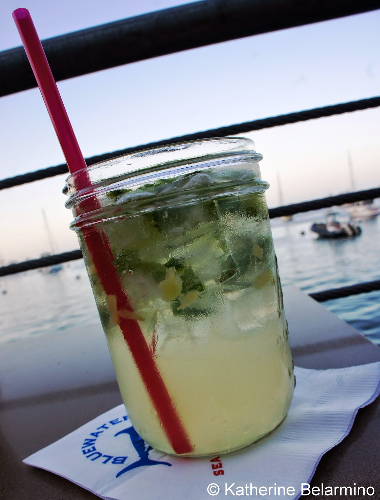 Bluewater Avalon Cucumber Mojito Catalina Island California