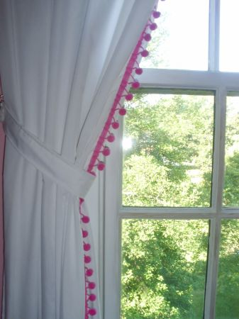 The Window Wall Curtain Facelift For Around 10 No Sew