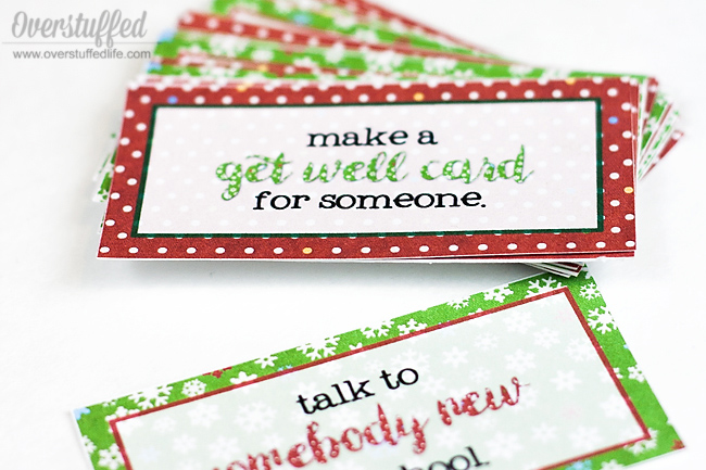 Free printable Christmas service advent