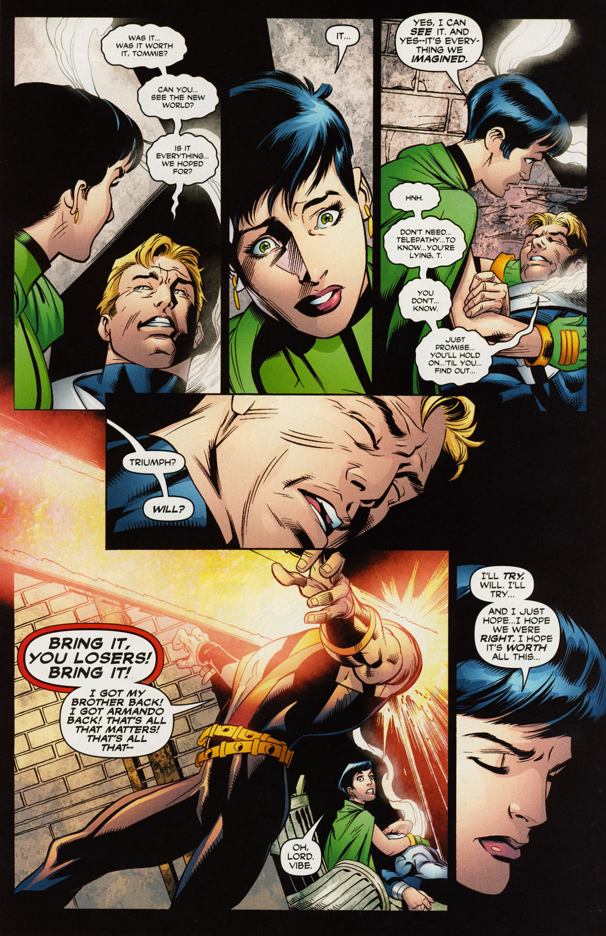 Read online Trinity (2008) comic -  Issue #41 - 12