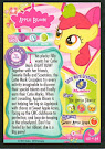 My Little Pony Apple Bloom Series 1 Trading Card