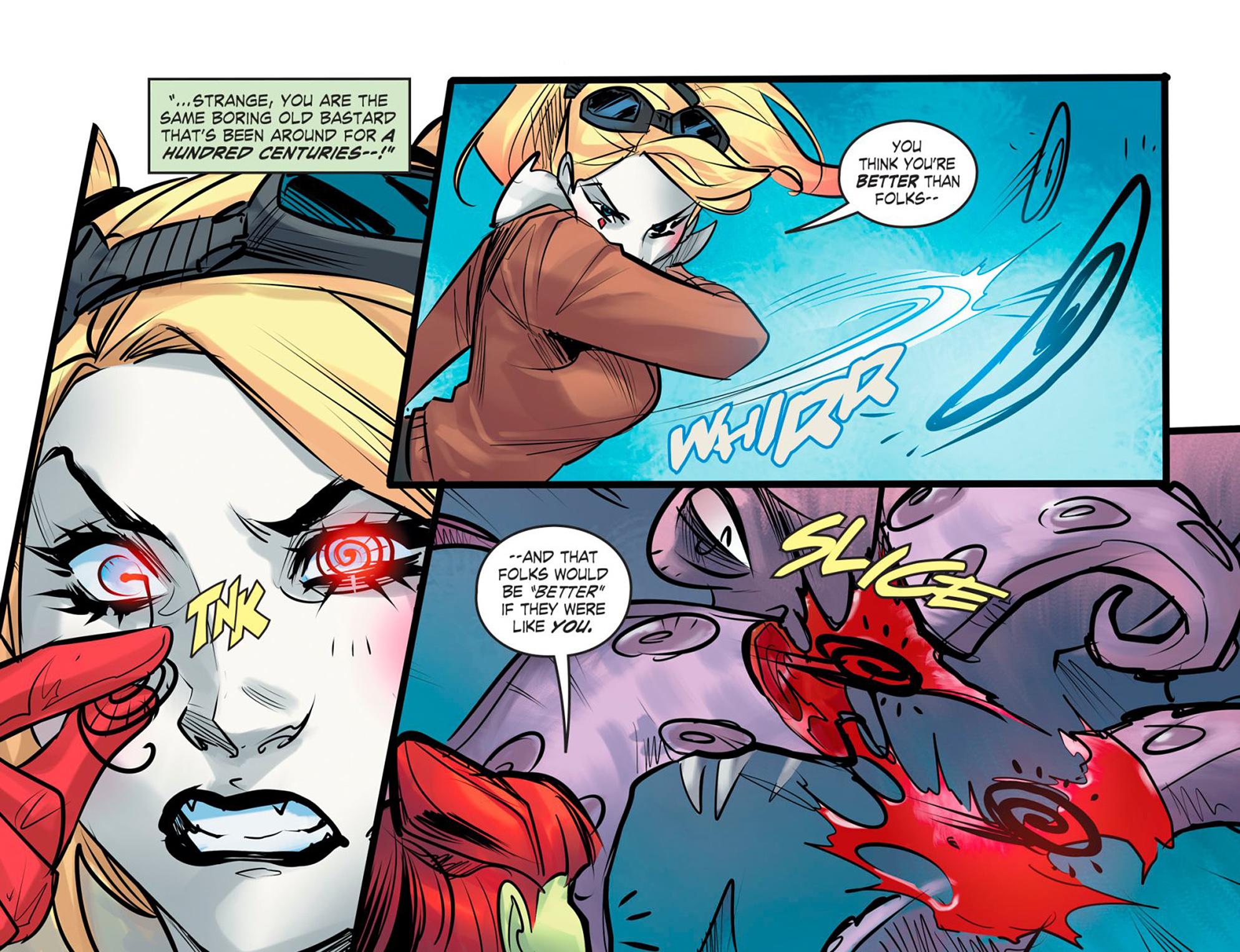 Read online DC Comics: Bombshells comic -  Issue #95 - 15