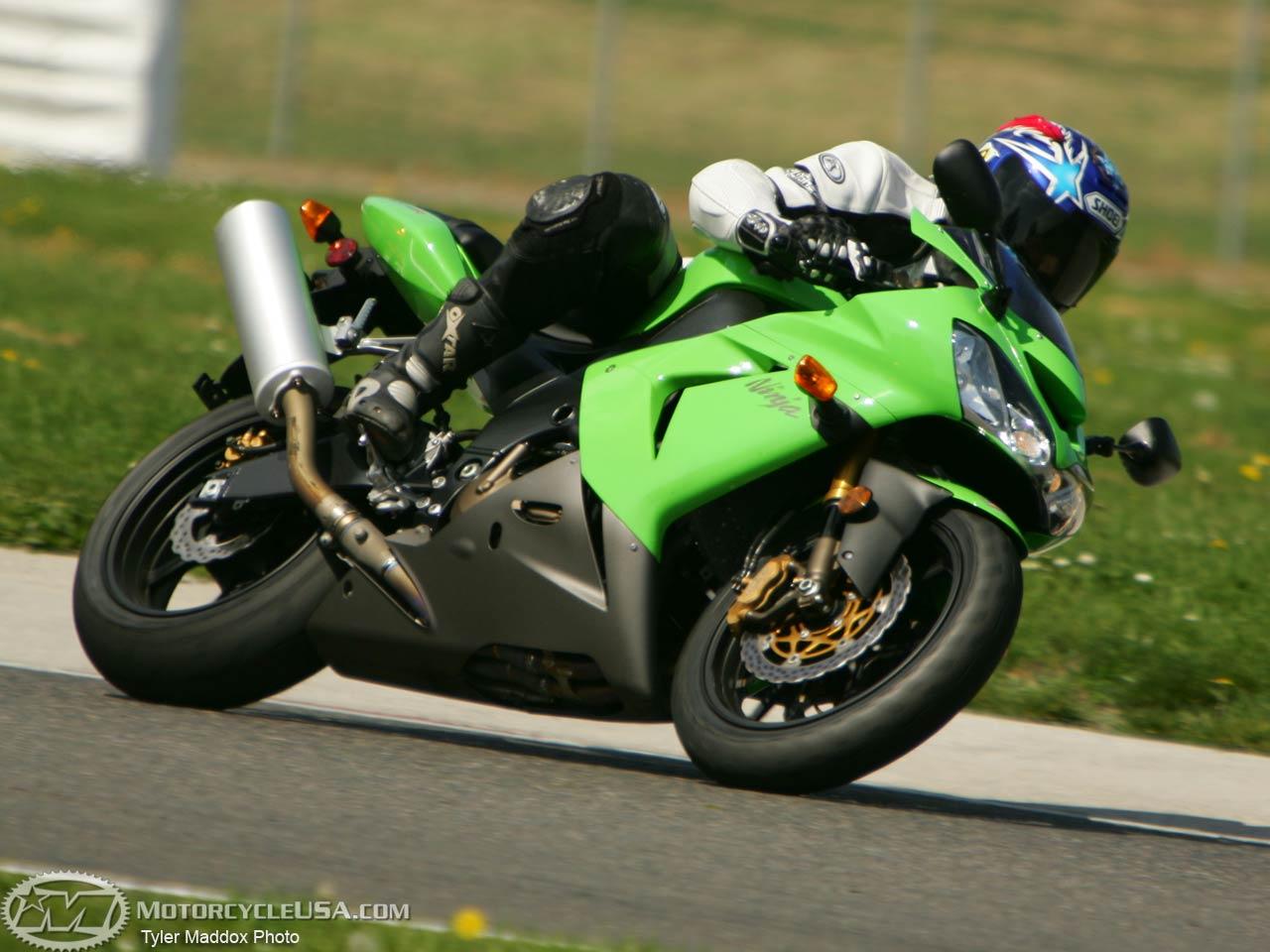 Wallpaper Black Green Fast Havey Bikes Kawasaki Zx10r 2005