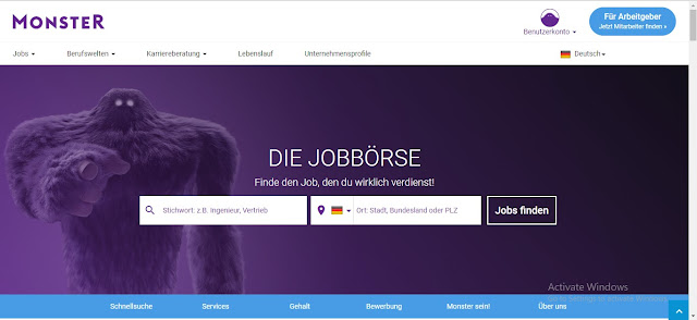 best job sites in germany - Monster Jobs germany