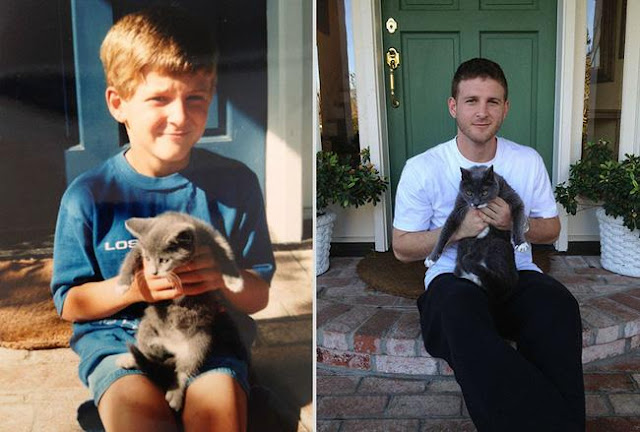 Ai rồi cũng sẽ lớn vậy mà cứ quên mất thú cưng của mình cũng đang già đi rồi...