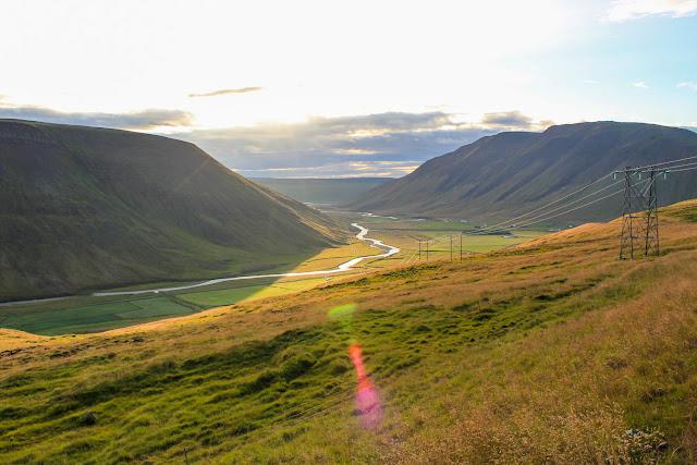 Camino a la península de Vatnsnes