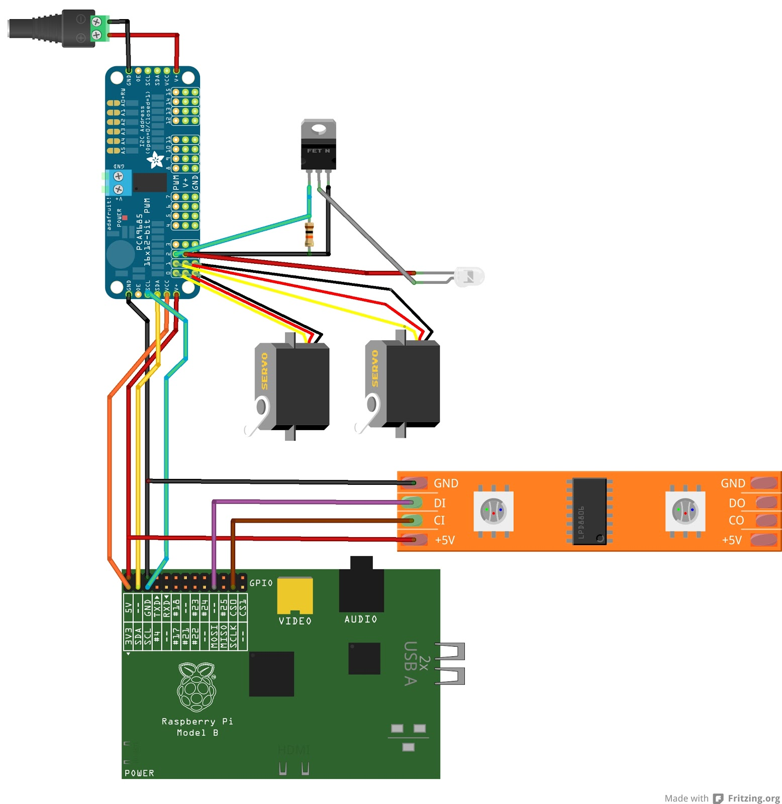 The Great Geekery Introducing Lightingpi Dmx Led Controller Wiring Diagram