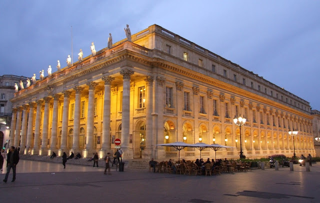 O Grand Théâtre de Bordéus