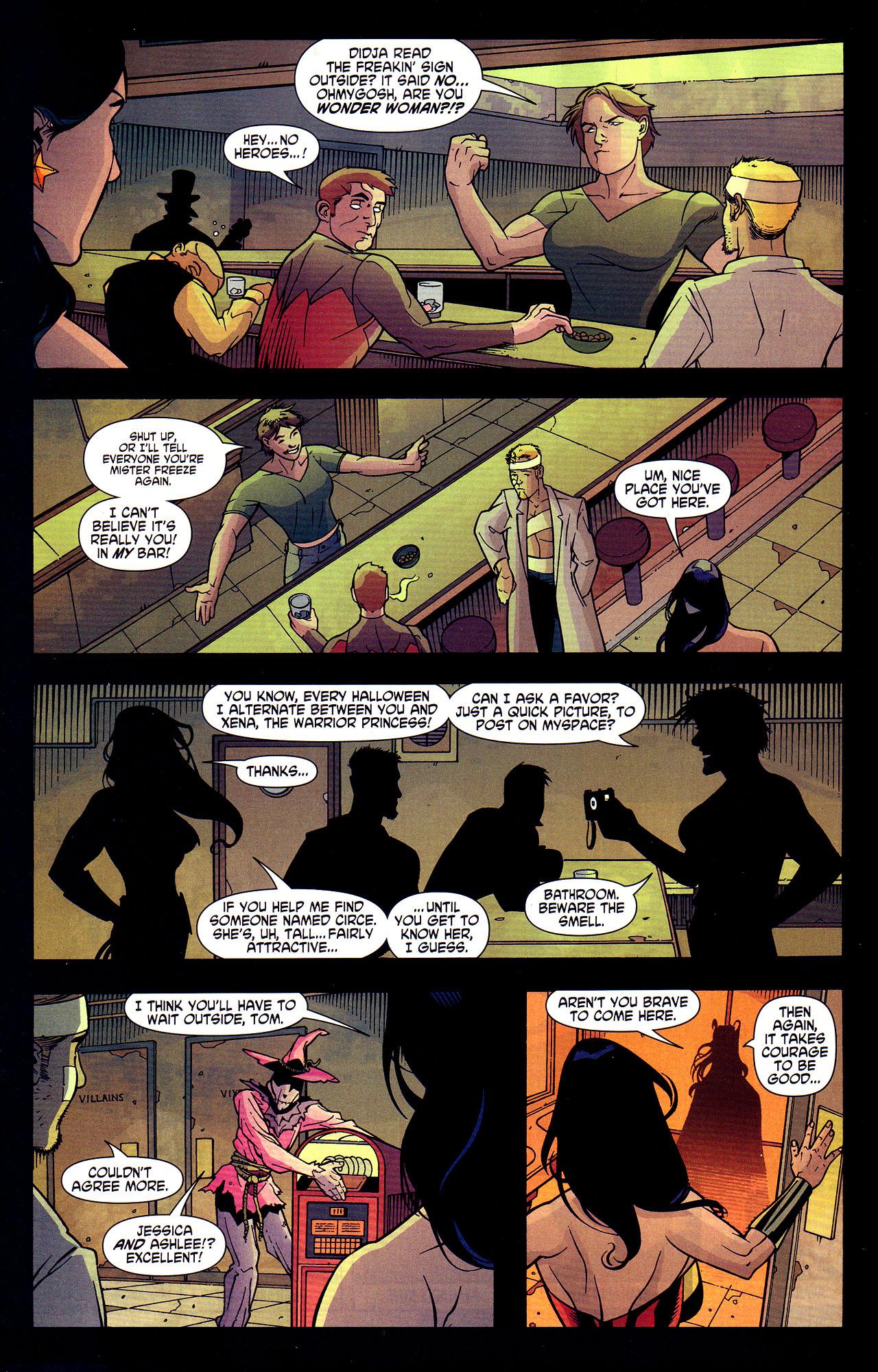 Read online Wonder Woman (2006) comic -  Issue #7 - 15