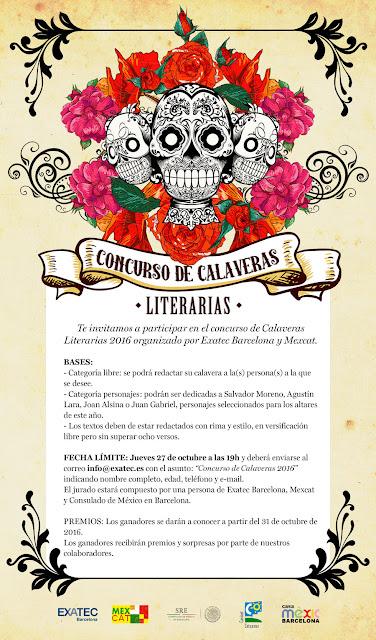 Noticias concurso de calaveras literarias 2016 for Concurso para profesores 2016