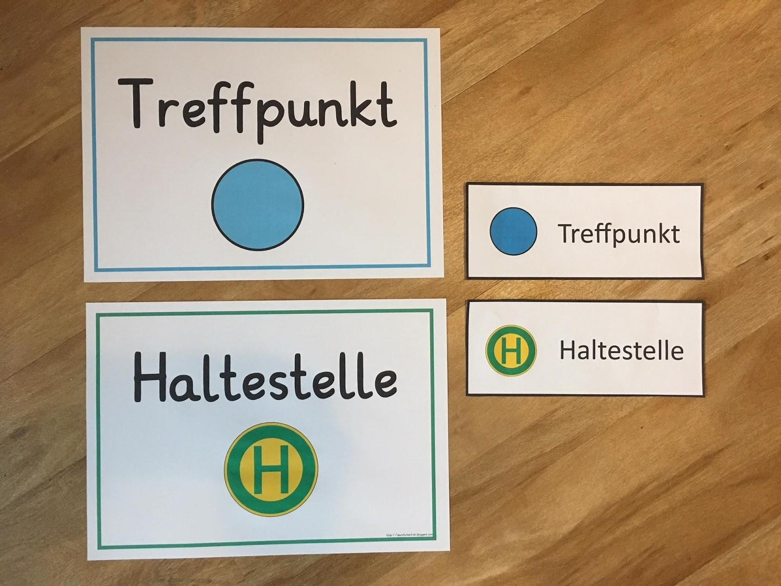 Team Farbenfroh Treffpunkt Haltestelle