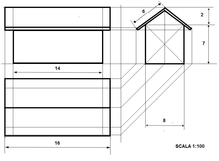 Io amo la tecnologia progetto di una abitazione for Progetto di una casa